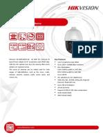 Datasheet of DS-2DE5225IW-AE (C)