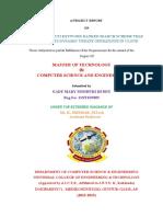 Mtech Project Final Document_Sindhuri