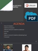 Sitecore + Salesforce Lets Get Started