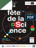 Programme Fête de la science 2019