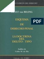 Esquema de Derecho Penal - Ernst Von Beling