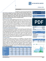 Research Report- Foods & Inns Ltd.
