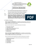 Letter to Business Establishment_updated Drug Free Workplace