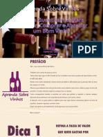 Aprenda sobre vinhos