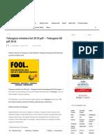 Telangana Ministers List 2018 PDF - Telangana GK PDF 2018 - GovtExam.in