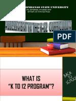 Assessment k12 Report
