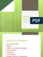 African Literature PPT
