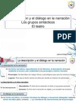 Ud.11 - La Descripción y El Diálogo en La Narración - ALUMNO