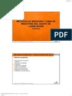17 Métodos de Medición y Toma de Muestras Del Aceite de Lubricación