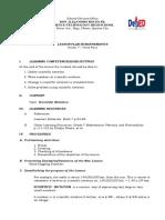 1st COT- Lesson Plan in Mathematics 7