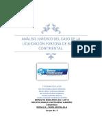 Tarea Grupal No 6. - Liquidación Forzosa de Banco Continental - Grupo 5