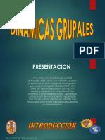 Diapositiva de Dinamicas Grupales