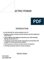 01 - Electricity