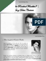 Carlos Erik Malpica Flores - ¿Quién fue Rosalind Franklin? | Vida y Datos Curiosos