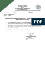 Div Memo No. 128 s 2019 Corrigendum to Division Memorandum No. 126, s 2019 and Addendum to Division Memorandum No. 127, s 2019