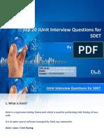 DevLabs Alliance Top 20 JUnit Interview Questions for SDET