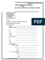 Application Form of Epc for Eous