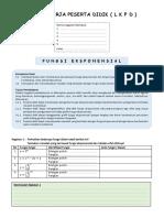 LKPD - Fungsi Eksponensial (isian)