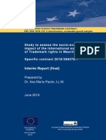 Study to assess the socio-economic impact of the international exhaustion of Trademark rights in Mauritius