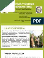 Procesos y Sistema Agroindustrial