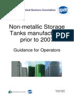 CBA SAFed Tank Storage Guidance