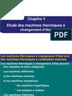 machines thermique