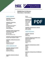 Temario Revit Architecture Tronix.pdf