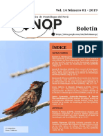 Boletin UNOP Vol. 14 N°1 2019