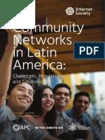 2018 Community Networks in LAC En