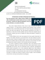 Atividade 2 - Leitura e Produção Textual