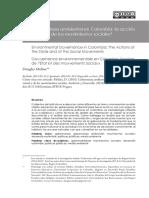 Gobernanza Ambiental en Colombia