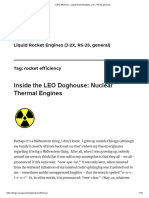 thermal engines