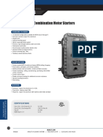 Combination Motor Starters Catalog Pages