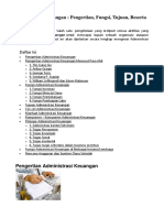 Administrasi Keuangan