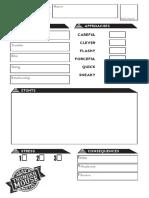 Hmtm Fae Character Sheet