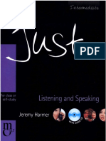 Just Listening & Speaking Intermediate