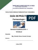 2019 I Guía Farmacología I (1)