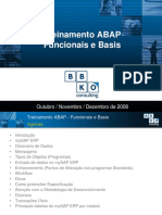 Treinamento ABAP Para Funcionais e Basis 2008