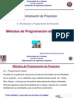 Metodos de Programacion de Proyectos 7
