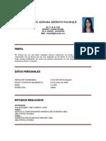 Hoja de Vida Adriana[1]