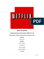 Netflix Analysis Using the Mckinsey 7s Framework