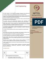 Syllabus Advanced Geotechnical Engineering (Video).pdf