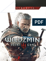 Witcher 3 Wild Hunt, The - Game Manual PL