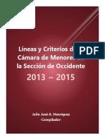 Lineas y Criterios 2013-2015