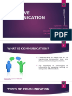 Effective Communication Revised