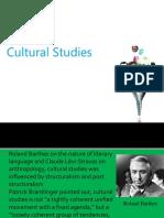 W10 Cultural Studies