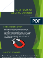 Magnetic Effect