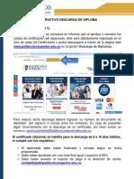 Instructivo Descarga Diploma Polisuperior