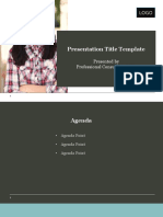 Presentation Template Example