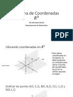 Sistema de Coordenadas R3
